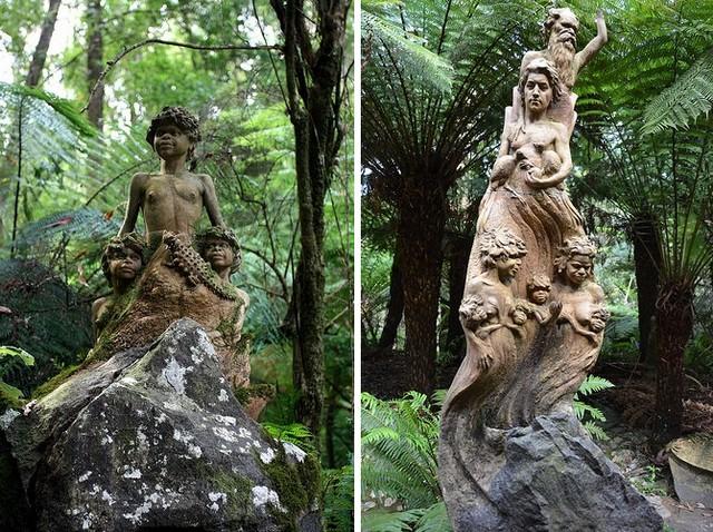 Заповедник Уильяма Рикеттса скульптуры