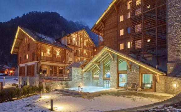 Отель в Италии с прекрасным видом на горы