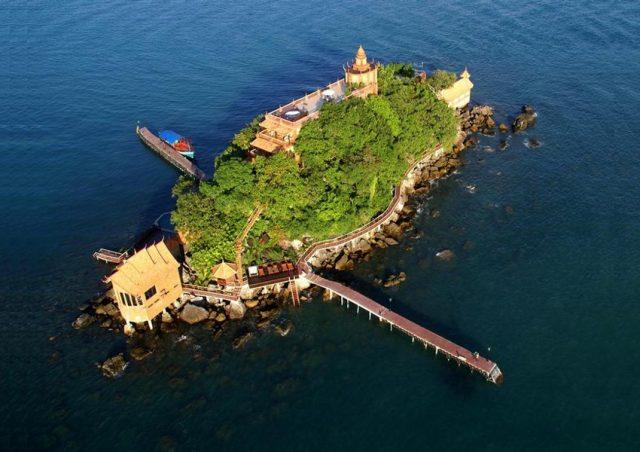 Остров Ко-Дек-Куль вид сверху