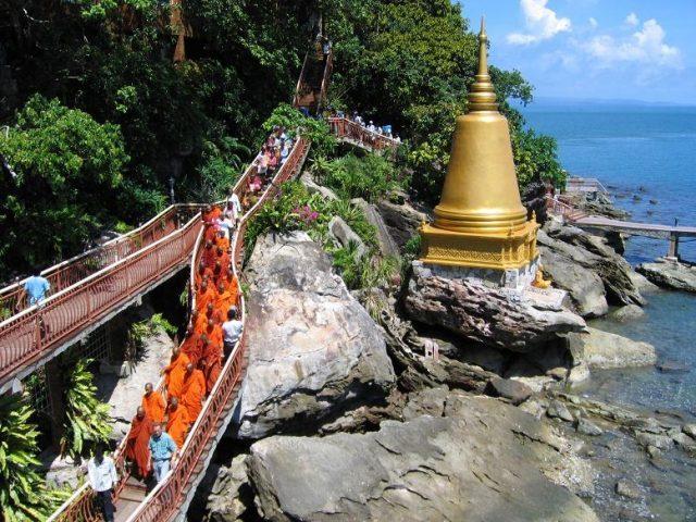 Остров Ко-Дек-Куль лестница