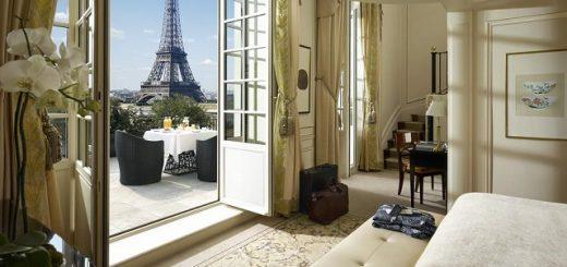 отель напротив Эйфелевой башни в Париже