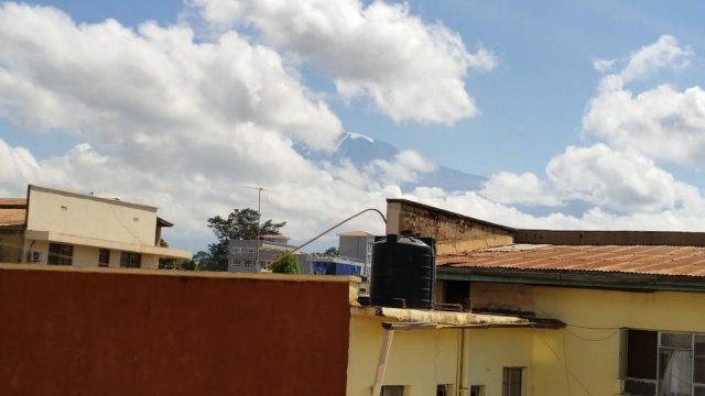 Leopard-Hotel вид на крыши