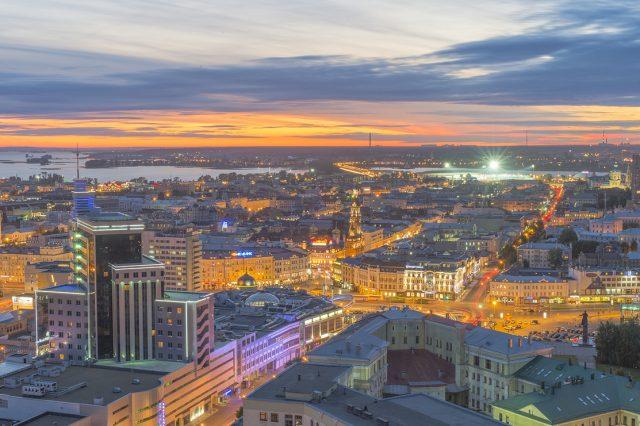 clover-house апартаменты с прекрасным видом на Казань
