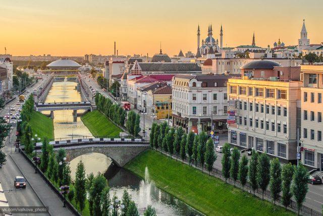 видовые отели Казани