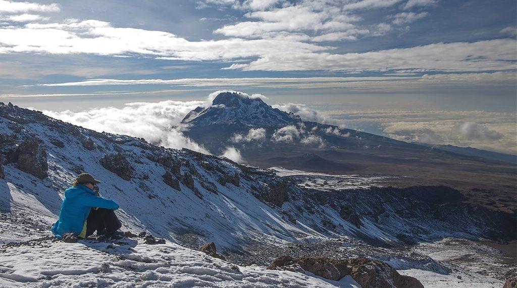 Виды с горы Килиманджаро