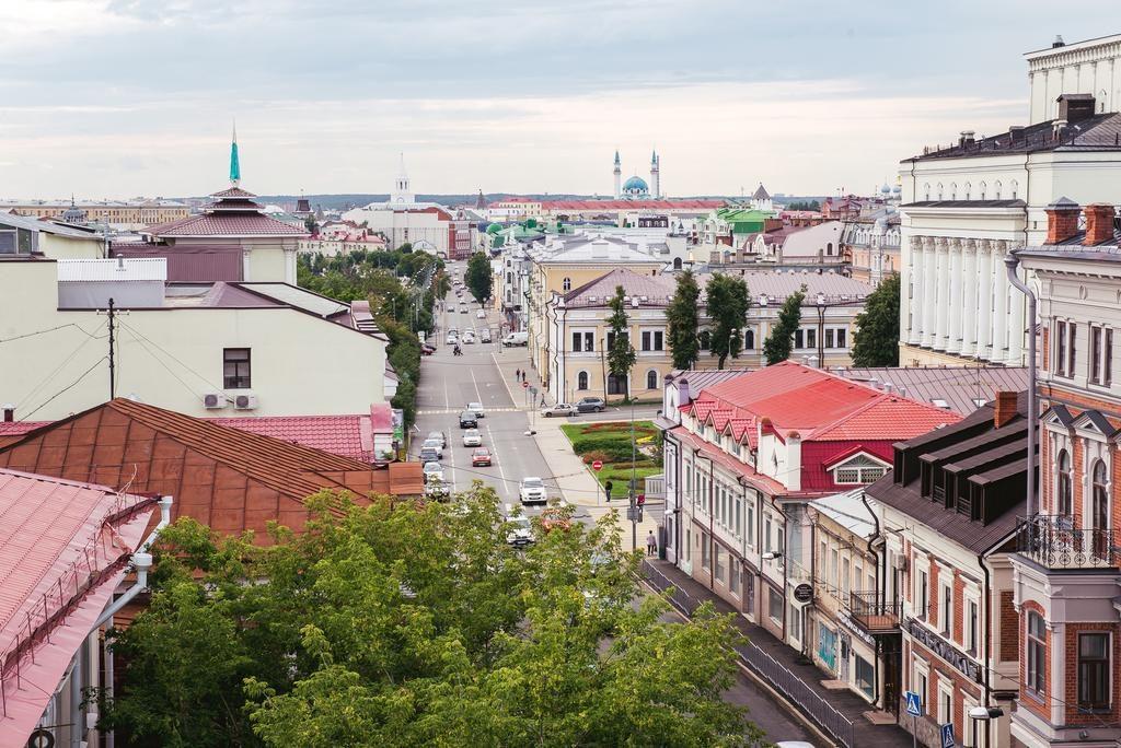 otel-maksim-gorkij вид из окна на кремль в Казани