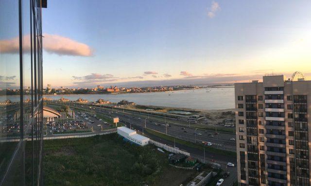 apartamenty-na-sibgata-hakima-44 прекрасный вид из окна на Казань