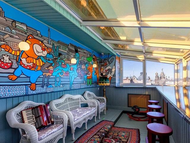 отель в центре Санкт-Петербурга с видом на достопримечательности