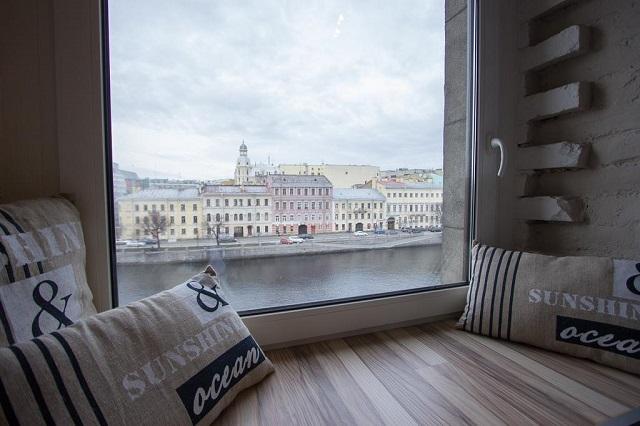бутик-отель в центре Санкт-Петербурга с красивым видом из окна
