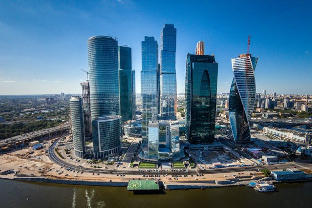 Москва-Сити вид на комплекс