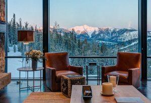 апартаменты с красивым отличным видом на горы
