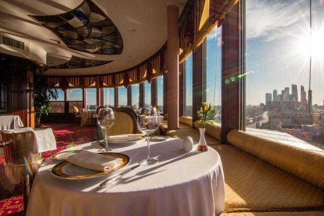 Отель с красивым видом на комплекс Москва Сити