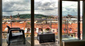 Отели с красивым видом на городской пейзаж