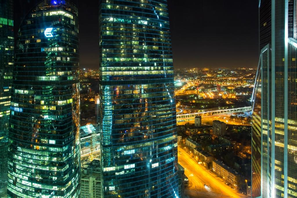 шикарный вид из окна отеля на Москва-Сити panorama-siti3