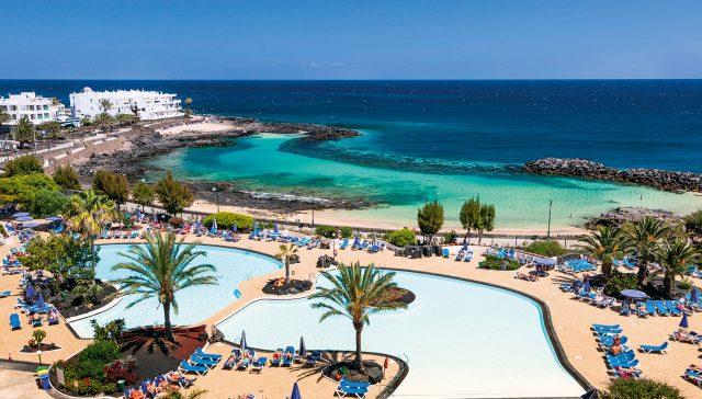 Испания Канарские острова гостиница Лансароте