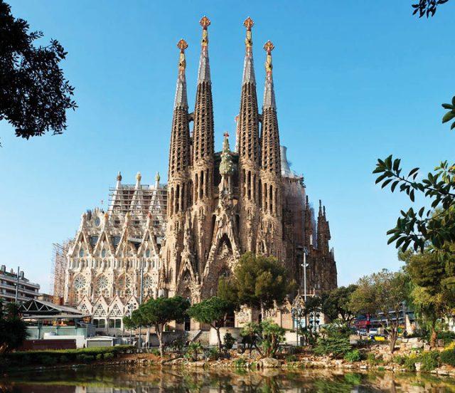 Испания Собор Саграда Фамилия или Святого семейства