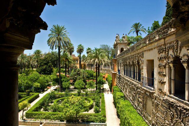 Испания Севильский Алькасар Мавританский дворец испанских монархов