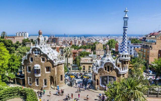 Испания Парк Гуэль (Барселона)