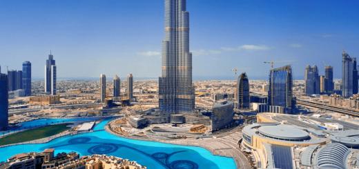 Бурдж-Халифа Дубай отели с видом на башню