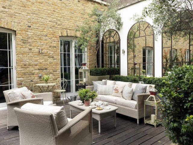зимний сад лондонского отеля