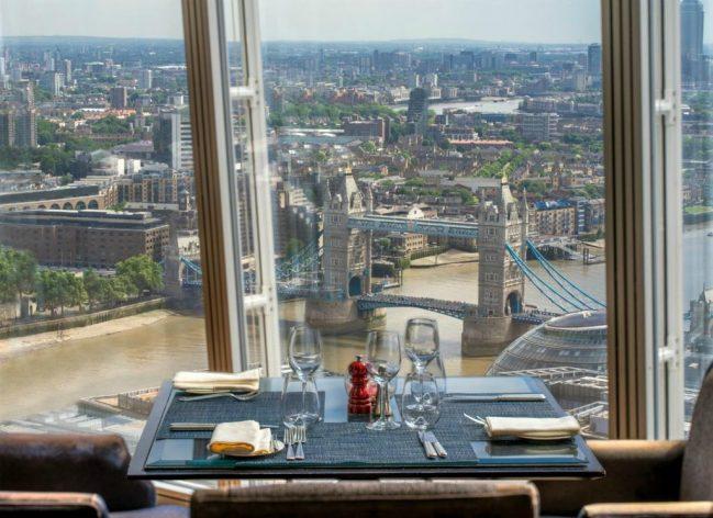 Видовой отель-небоскреб в Лондоне с видом на Темзу