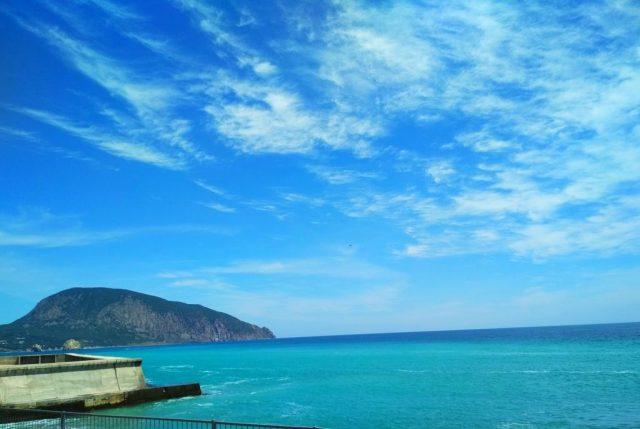 отель с красивым видом на море в Гурзуфе