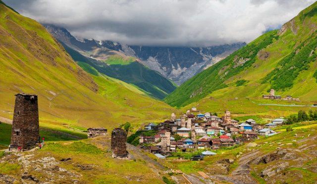 Грузия регион Сванетия