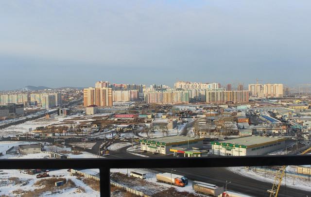 отель в Красноярске с красивым видом на город