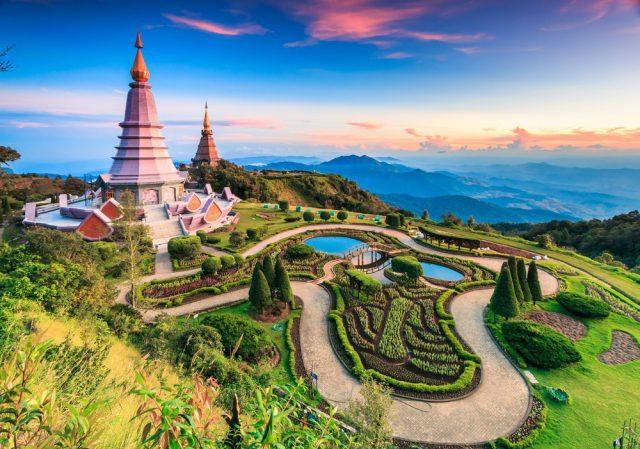 Национальный Парк Doi Inthanon в Таиланде
