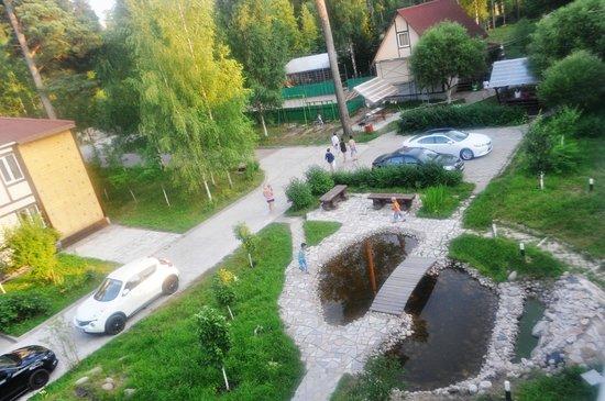 красивый вид из Park-hotel Hvoiniy в Зеленогорске