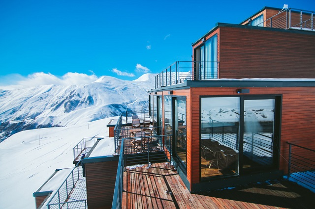 Отель в горах Грузии