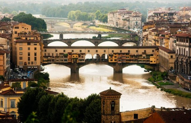 необыкновенные мосты Флоренции Понте-Веккьо