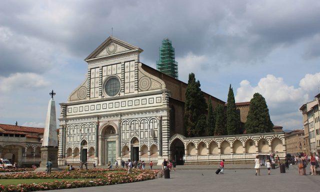Базилика Санта-Мария-Новелла Флоренция