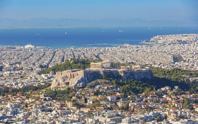 отели Афин с красивым видом