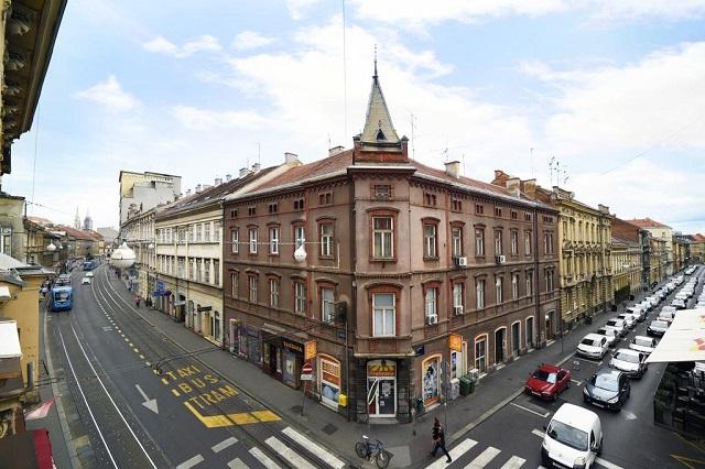 видовые апартаменты Загреба с видом на достопримечательности