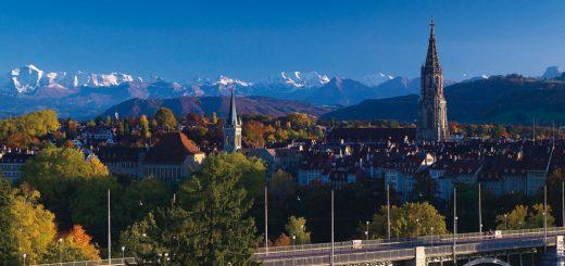 отели Берна с красивым видом на город