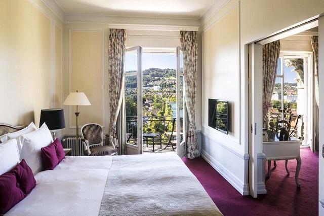 отель в Берне с видом на город