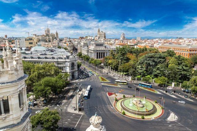 отели Мадрида с видом на достопримечательности