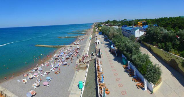 Симферополь пляжи в Николаевке