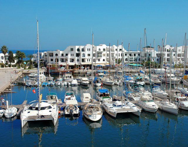 Тунис Порт Эль Кантауи