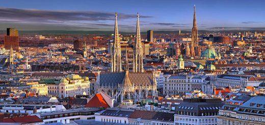 отели Вены с красивым видом на город
