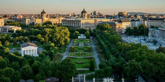 отели Вены с красивым видом на достопримечательности