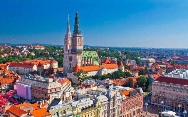 Отели Загреба с красивым видом на город