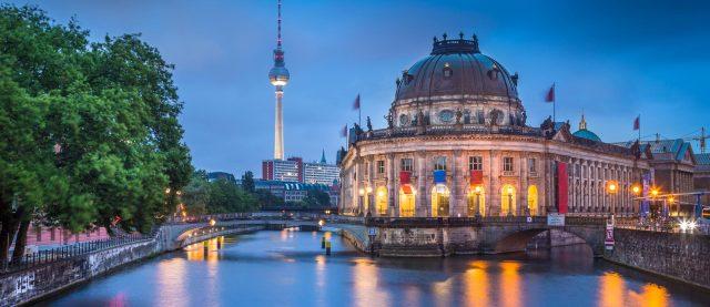 отели Берлина с красивым видом на город