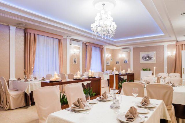 отличный банкетный зал для празднования юбилея в Москве
