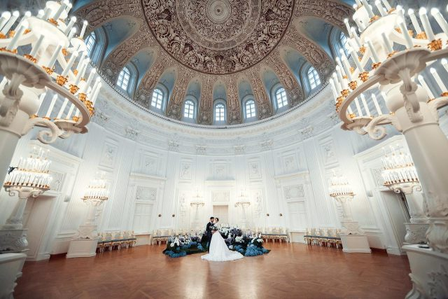 шикарная свадьба во дворце Петровский Путевой