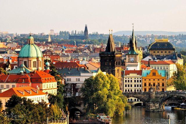 отели Праги с красивым видом на город и достопримечательности