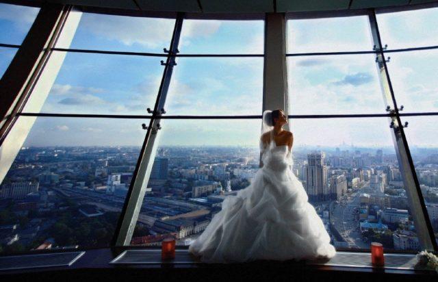 шикарные отели Москвы для первой брачной ночи