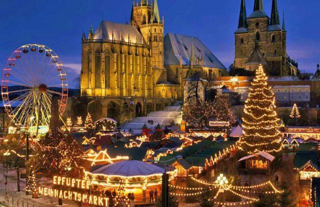 зимний отдых в Германии