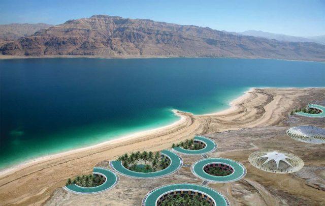 зимний отдых на мертвом море в Израиле